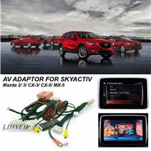 MAZDA 2 3 CX3 CX5 MX5 SKY ACTIV Add-on Interface with Rear View Camera
