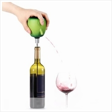 TOKUYI TO-EPD APPLE DESIGN WINE CIDER ELECTRIC DECANTER PUMP (GREEN)