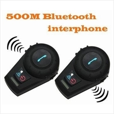 ★ 2 x 500M Motorcycle Bluetooth Helmet Interphone (BH-03)