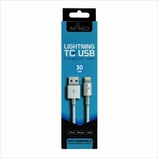 INFINEO 8-Pin Lightning to USB Cable Support iOS 12 Version (30CM)