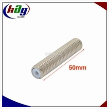 Nozzle Throat Hot End M6*50mm with Teflon tube for 3D printer
