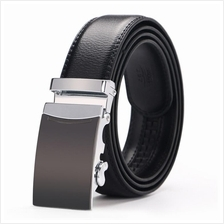 DOULILU Men Leather Automatic Buckle Waist Belt Tali Pinggang 264