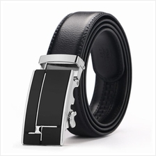 DOULILU Men Leather Automatic Buckle Waist Belt Tali Pinggang 256
