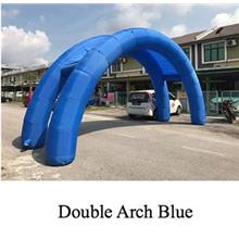 Inflatable Double Arch 8 meter wide for Party Event Family Day