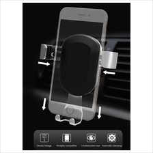 Metal Car Phone Holder Alloy Auto Adjustable Bracket Air Vent Mount