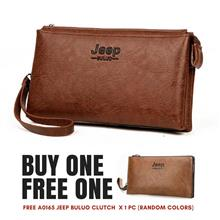 Jeep Buluo Multi-purpose High Quality Men clutch Bag / Wallet - A0235