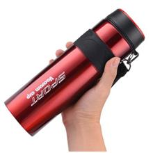 LARGE CAPACITY INSULATED MUG PORTABLE SPACE CUP SPORTS WATER KETTLE (R