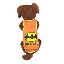 Dog T-Shirt for Small Dogs Bat Man Design M Size