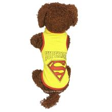 Dog T-Shirt for Small Dogs Super Man Design M Size