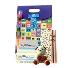 Mother's Day Gift Set Ellgy H20 Arr Cream & I Love You Bear