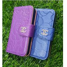 blue or purple flip cover for iphone 4 4s