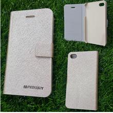iphone 4 4s flip cover gold mercury