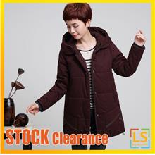 Plus Size Women Hooded Winter Autumn Jacket Coat