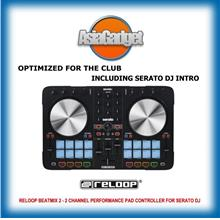 Reloop BeatMix2 MK2 2 CHANNEL PERFORMANCE PAD CONTROLLER FOR SERATO DJ
