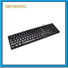 SENSONIC K150 Compact USB Wired Keyboard