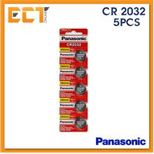 Panasonic CR2032 3V CMOS Lithium Battery - 5 Pcs