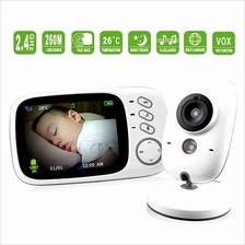 3.2 Inch Night Vision Baby Monitor (2 Way Talk) (WBM-05B) ★