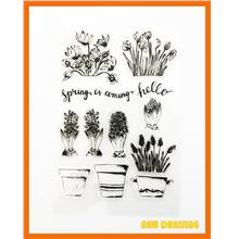 CS211 - Spring is Coming Clear Stamp