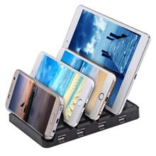 CREATIVE MULTIFUNCTIONAL 48W 4-PORT USB 9.6A OUTPUT CHARGING STAND STA