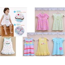 MOM  & BAB Soft Cotton Dress P002