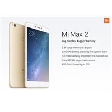 Xiaomi Mi Max 2  [32GB / 64GB ROM + 4GB RAM] Global ROM Imported Set