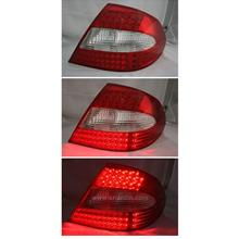 MERCEDES BENZ CLK W209 03-08  RED CLEAR LED TAIL LAMP
