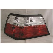 Mercedes Benz W124 Red Clear Crystal Tail Lamp