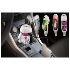 Mini USB Port In Car Charger with Humidifier Atomization Air Purifier