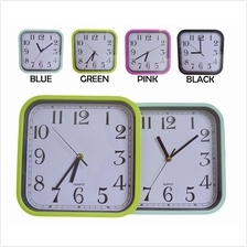 Colourful Square Wall Clock 835