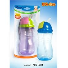 Pureen Sports Sipper Bottle with Straw 240ml