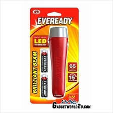 Eveready Brilliant Beam 2AA LED 65L Flashlight VAL2AA