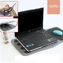 Korea Actto NDL-01 Foldable Slim Light weight Notebook Laptop Lap Desk