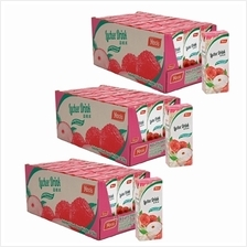 [Set of 3] YEO''S 250ml Lychee ASD TB Drink (24 packs x 3 Cartons))