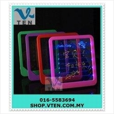 LED Writing Board Screen Fluorescent Drawing Educational Learning Use
