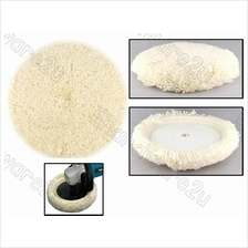 Wool Buffing Polish Pads With Curved Edge 125mm 180mm (MO3AA)