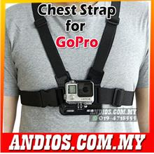 Chest Mount Strap for GoPro Action Cam HERO 4 3 3+ 2 Accessories SJCAM