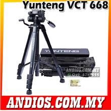 Pro YUNTENG VCT-668 Tripod Damping Head Fluid Pan camera DV Phone