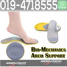Bio-Mechanics Arch Support Shoe Insole Flat Foot Care.Kasut tapakKaki