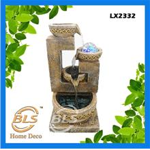 FENG SHUI WATER FOUNTAIN LX2332 TABLE TOP WATER FEATURES DECORATION