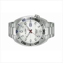 Alba Men Analog Stainless Steel Date Watch VJ32-X273SSS