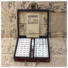 Mini Chinese Antique Mahjong Games with English Instruction