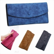 Matte Texture Leather Multiple Card Slots Wallet (FS420)