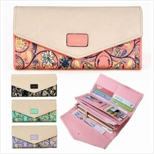Ethic Vintage Floral Exquisite Long Purse (FS421)