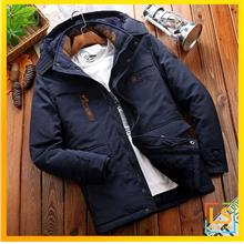 Men Hooded Outdoor Multiple Pockets Winter Autumn Jacket Coat