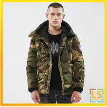 Army Fashion Men Outdoor Hooded Camouflage Jacket Coat