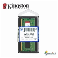 Kingston 8GB DDR4 2400Mhz SO-DIMM CL17 Notebook Ram (KVR24S17S8/8)