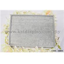 VELVET GREY RING DISPLAY TRAY FOR DISPLAY