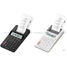 CASIO HR-8RC Printing Calculator Mini Compact Reprint Check 12 digits
