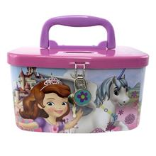 DISNEY SOFIA THE FIRST UNICORN COIN BANK WITH LOCK