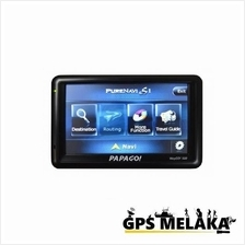 "Papago WayGo 500 - 5"" HD Screen GPS Navigator S1 Software + Free Gifts"